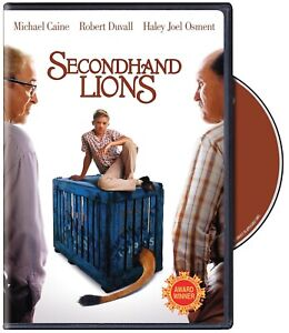 Secondhand Lions (Michael Caine, Robert Duvall) New Region 1 DVD