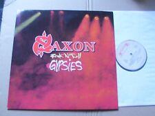 SAXON,ROCK 'N' ROLL GYPSIES lp m(-)/m- roadrunner records RR9416-1 Holland 1989