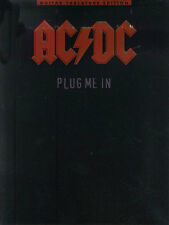 AC/DC Plug Me In Learn to Play Back in Black Guitar TAB Music Book