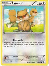 Ratentif - N&B:Frontieres Franchies - 118/149 - Carte Pokemon Neuve Française