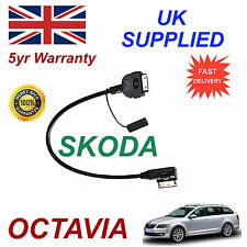 SKODA OCTAVIA MMI AZO800001 iPhone 3gs 4 4s iPod Cable replacement