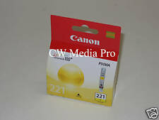 Genuine Canon CLI221 Yellow ink 221 MP990 MP980 MP640 MP560 MX870 iP4700 PIXMA