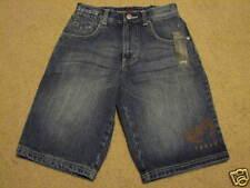 Boy's 6 Phat Farm denim blue jean shorts NEW WITH TAGS