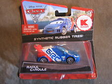DISNEY PIXAR CARS RAOUL CAROULE  W/ SYNTHETIC RUBBER TIRES