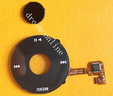 Black Clickwheel Central Button for iPod Classic 6th 120GB