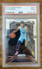 2019-20 Panini Prizm Ja MORANT #249 Rookie Base Psa 9 Mint Rc