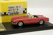 BBR 1/43 - Ferrari 250 GT Cabriolet Serie 2 1968 Ruby Rot
