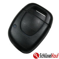 Autoschlüssel 1 Tasten Gehäuse Funk Schlüsselgehäuse passend für Renault Opel