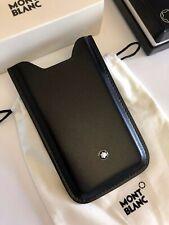 NEU MONTBLANC *MST* iPhone 4s Leder Hülle SmartPhone Holder Case NP:200€ -2029