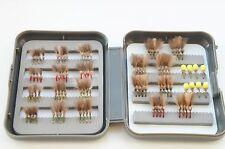 Elite 88 competencia CDC Búho y suspender Búho en Caja de selección de moscas secas