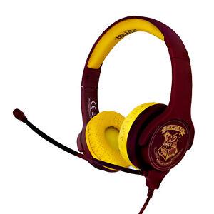 Harry Potter Hogwarts Interactive Study Headphones with Detachable Boom Mic