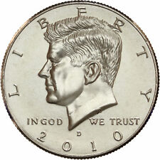 2010 D Kennedy Half Dollar Satin Finish