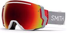 SMITH OPTICS SAMPLE MEN'S I/O 7 SKI SNOWBOARD GOGGLE LAPIS ARCHIVE1989/RED SOL X