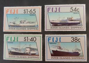 Fiji 1992 Inter Islands Shipping Ship boat SG847/50 MNH UM unmounted mint
