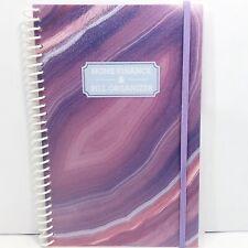 Home Finance Amp Bill Organizer Monthly Folder Pockets Purple