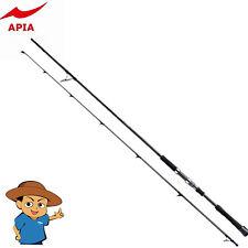 "Apia FOOJIN'BLACKLINE 99H Heavy 9'9"" fishing spinning rod pole from Japan"