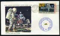 Apollo 11 - Official First Day Cover With Gold Kapton Foil FLOWN  To The Moon