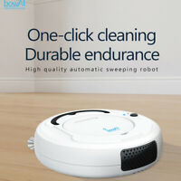 bowAI Lazy Smart Robotic 1800Pa Vacuum Cleaner Floor Automatic Sweeping Robot