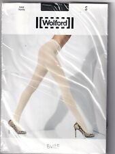 Collant WOLFORD EMILE coloris Anthracite. Taille S. Tights.