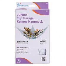 DreamBaby Jumbo Corner Hammock Toy Storage Ideal Bedrooms & Playroom