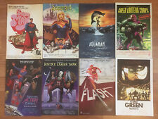 DC Movie Poster Variants Supergirl, Action Comics, Aquaman, more NM Lot of 8