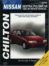 Nissan Sentra, Pulsar, and NX, 1982-96 (Chilton To
