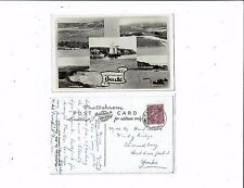 CORNISH POST CARD REAL PHOTO GREETINGS FROM BUDE