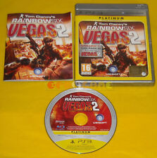 TOM CLANCY'S RAINBOW SIX VEGAS 2 Ps3 Versione Italiana Platinum »»»»» COMPLETO