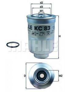 Knecht Kraftstofffilter KC83D für YANMAR MITSUBISHI TOYOTA SUBARU VW