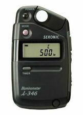 Sekonic I-346 Electronic Flash Illuminometer Light Meter I346