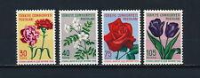 Turkey 1480-3 MNH, Flowers, 1960