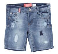 Girls' Stretch 5 Pockets Ripped Premium Bermuda Shorts