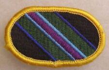 2000'S RARE TASK FORCE BRAVO AIRBORNE PARA OVAL MERROWED EDGE