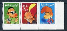 STAMP / TIMBRE FRANCE N° T3751a ** BANDE DESSINEE TITEUF / TRIPTYQYE