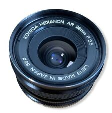 Konica Hexanon AR 28mm F3.5 Wide Angle Lens