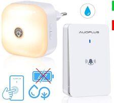 Campanello Senza Fili, Wireless Impermeabile da Esterno LED,150m 52 Melodie Casa