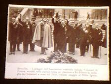 Bruxelles nel 1931 Volontari di guerra Fascismo e Fascisti Duce Belgio