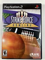 Strike Force Bowling - Sony PlayStation 2, PS2 Game COMPLETE FREE S/H