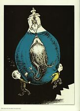 """Dr. Seuss. """"One Fish Two Fish Red Fish Blue Fish!"""" Reproduction Print"""