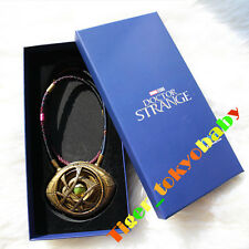 In Stock Amulet Antique Dr Doctor Strange Eye of Agamotto Bronze Pendant Limited