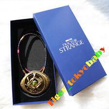 In Stock Amulet Antique Dr Doctor Strange Eye of Agamotto Bronze Pendant Limited
