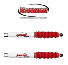 Rancho Pair Set of 2 Rear Shock Absorbers With 0″ Lift for Ford F-250 99-04 4WD