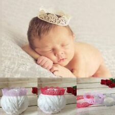Photo Photography Props Baby Hairband Newborn Accessories Lace Crown Headband