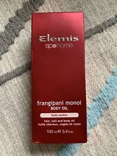 New ELEMIS Frangipani Monoi Body Oil 3.4 Oz 100 ml