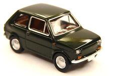 H0 BREKINA Personenkraftwagen FIAT 126 Polski Fiat tannengrün Drummer  # 22365