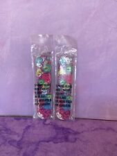lot of 2 Avon Spring Fling Mini emery Board Nail File-flowers-travel purse size
