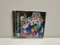 Devil Dice (Sony PlayStation 1, 1998) PS1 Complete with Registration Card TESTED