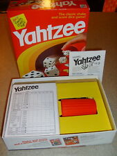 1998 Milton Bradley Original YAHTZEE Game + Extra Score Sheets and Extra Chips