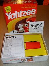 1998 Milton Bradley Original YAHTZEE Game + Extra Score Sheets and Extra Chips