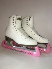 """Riedell Ice Skates Size 5 1/2"""" Model #133 Dsi R-1000 Blade Excellent Conidition"""